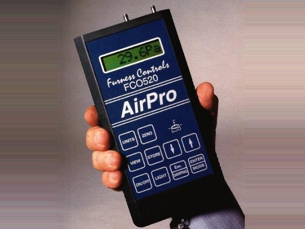AirPro Pressure & Flow Meter