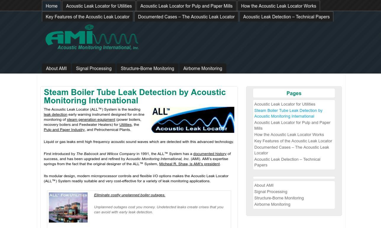 Acoustic Monitoring International, Inc.