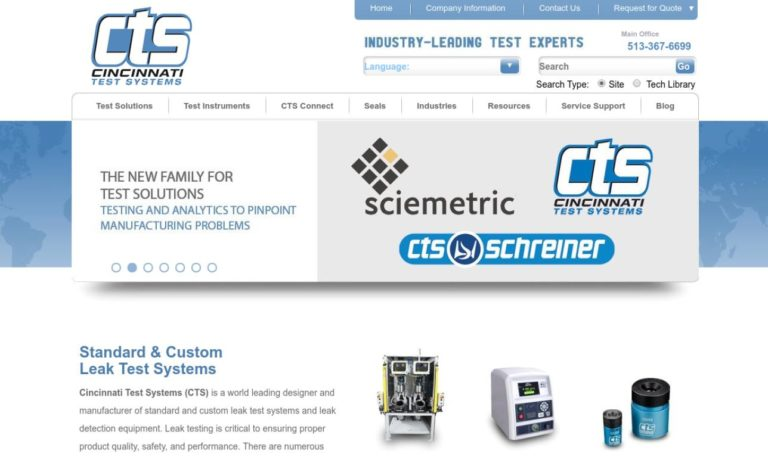 Cincinnati Test Systems, Inc.