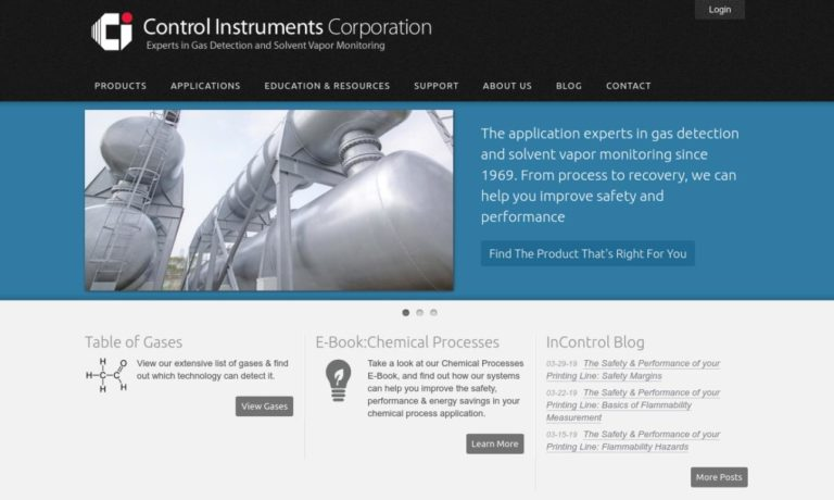 Control Instruments® Corporation