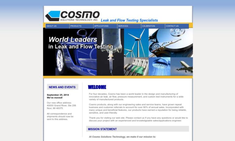 Cosmo Solutions Technology, Inc.