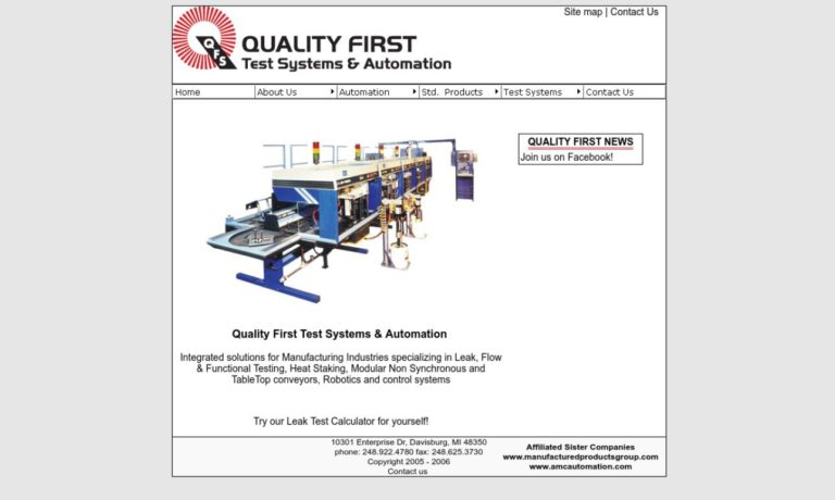 Quality First Systems, Inc.
