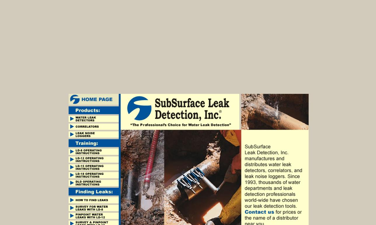 SubSurface Leak Detection, Inc.