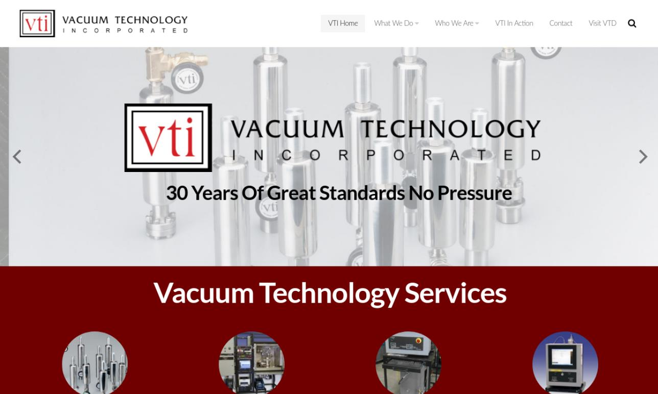 Vacuum Technology Incorporated
